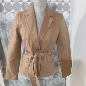 Jacob vintage belted blazer